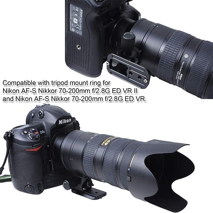 Objektiv Ersatzfuß Für Nikon Af S Nikkor 70 200mm F Kamera
