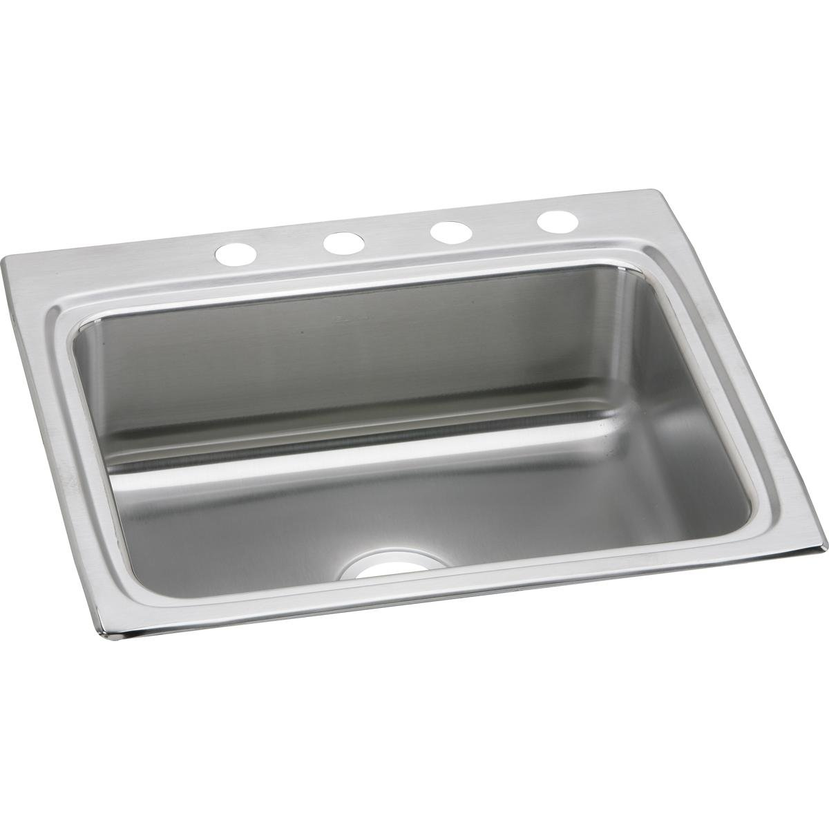 Elkay Lustertone Classic LR25221 Single Bowl Drop-In Stainless Steel Sink