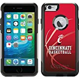 Coveroo Commuter Series Case for iPhone 6 Plus - Retail Packaging - University of Cincinnati Basketball