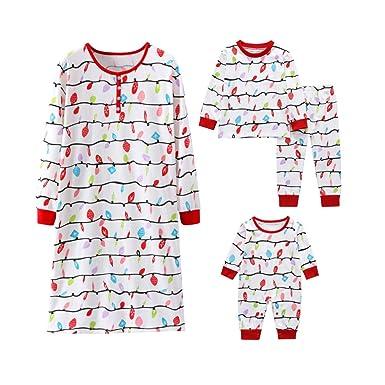 5409d6200 Amazon.com  Joint Christmas Family Matching Sleepwear Knit Holiday ...