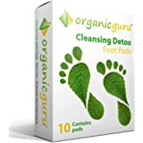 OrganicGuru® Detox Foot Patches 100% Pure & Natural Ingredients