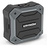 Outdoor Waterproof Bluetooth Speaker,KAYINOW Wireless Portable Mini Shower Travel Speaker with Subwoofer, Enhanced Bass, Buil