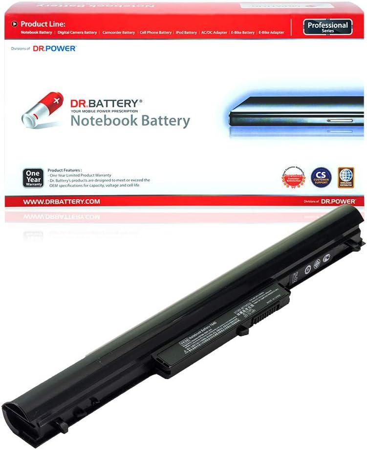DR. BATTERY VK04 Battery Compatible with HP Pavilion Sleekbook 14 15 695192-001 694864-851 HSTNN-YB4D TPN-Q113 TPN-Q114 H4Q45AA HSTNN-DB4D HSTNN-YB4M SleekBook 14-b000 15-b000 [14.4V/2200mAh/32Wh]