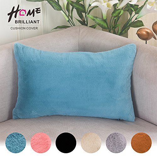 Brilliant Regtangle Pillowcase Included Turquoise