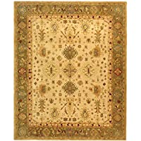 Safavieh Anatolia Collection AN547B Handmade Traditional Oriental Ivory Wool Area Rug (8 x 10)