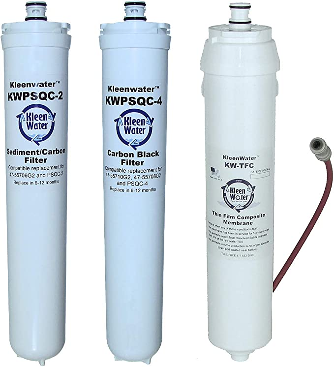 Integrated Descaling Filter Quick-Connect Anti-Scaling Carbon Rod Filter Water Purifier Accessories 3 Packs