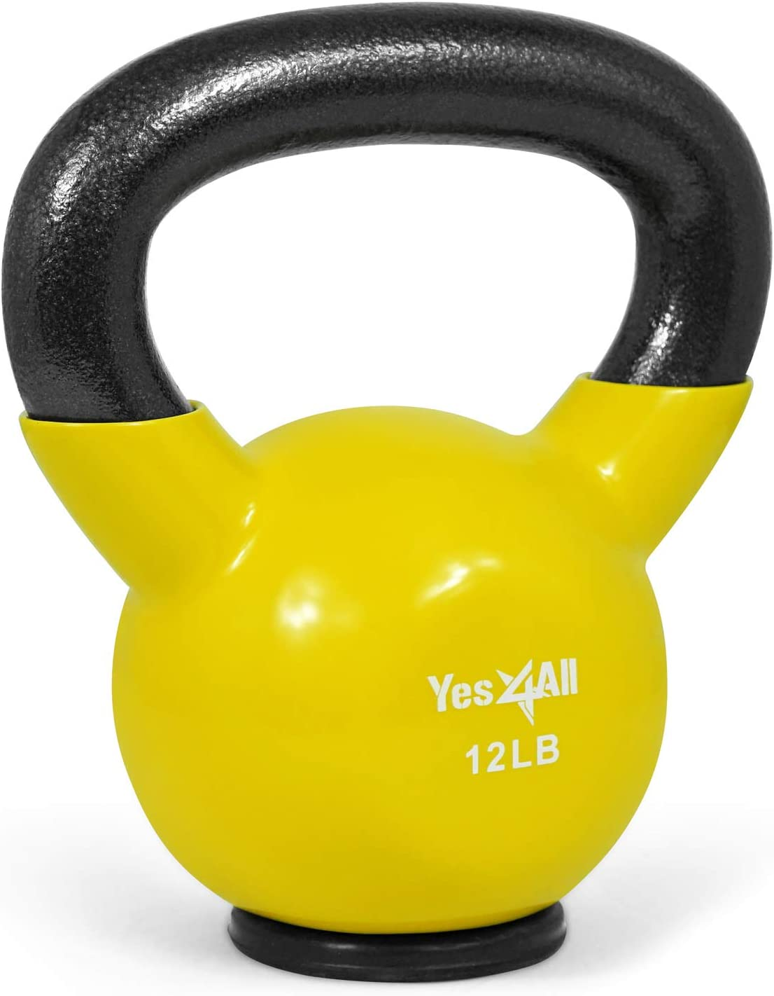 30 45 35 Yes4All Vinyl Coated Kettlebells 25 20 Weight Available: 5 10 15 50 lbs 40