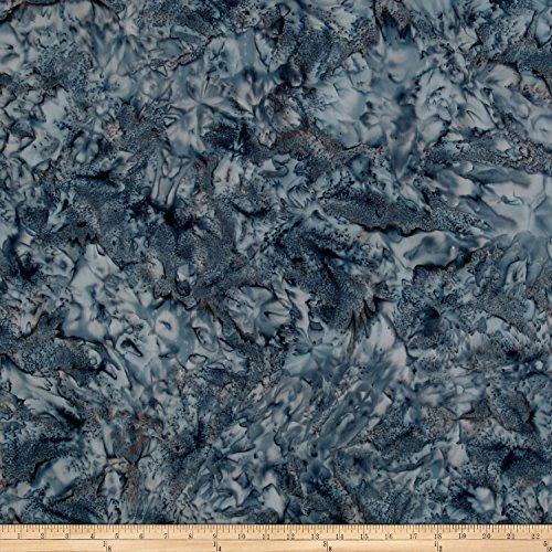 Hoffman Bali Batik Watercolors Smoke Fabric by The Yard -
