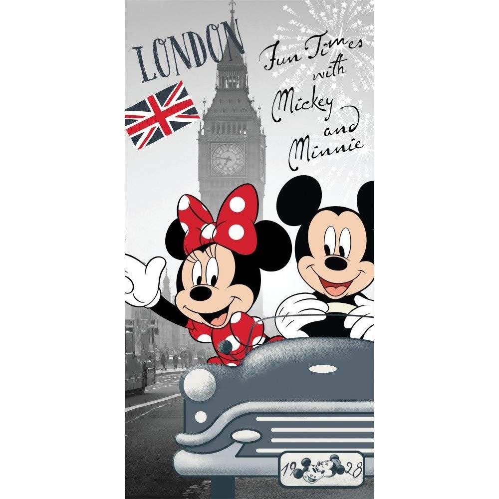Minnie e Mickey Good Times in London Telo da Mare