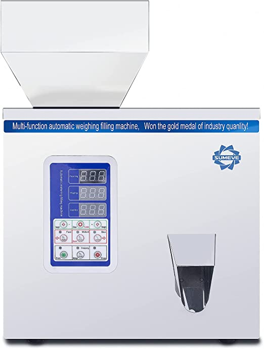 Sumeve Powder Filling Machine Automatic Intelligent Particle Weighing Filling Machine 2-100g