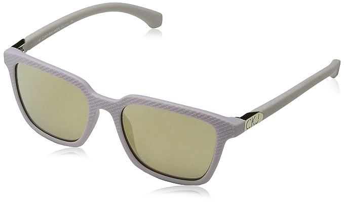 Calvin Klein Jeans Damen Sonnenbrille Eye, Weiß (Bianco), 51