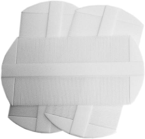 UltraCare – Lot de 3 double face blanc peignes anti poux
