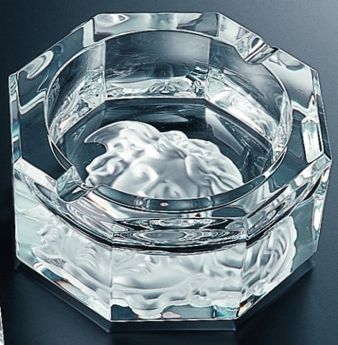 Price comparison product image Versace by Rosenthal Medusa Lumiere Clear Ashtray,  medium