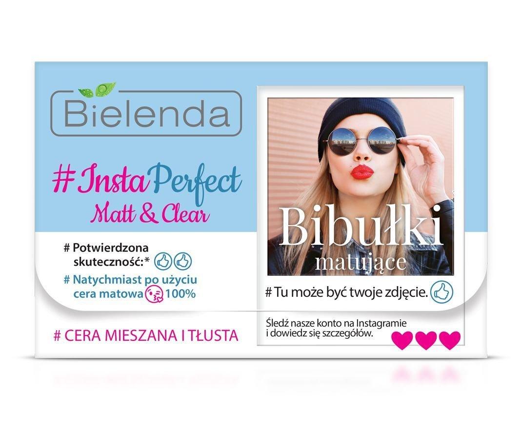 Bielenda, #insta perfect, clear matting wipes, 100 pieces