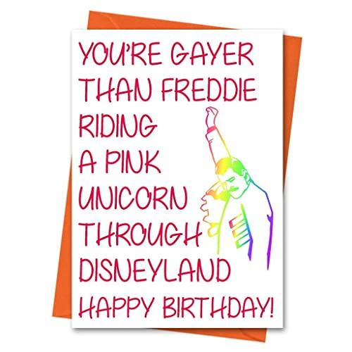 Image Unavailable Not Available For Colour Funny Birthday Card Gay Best Friend