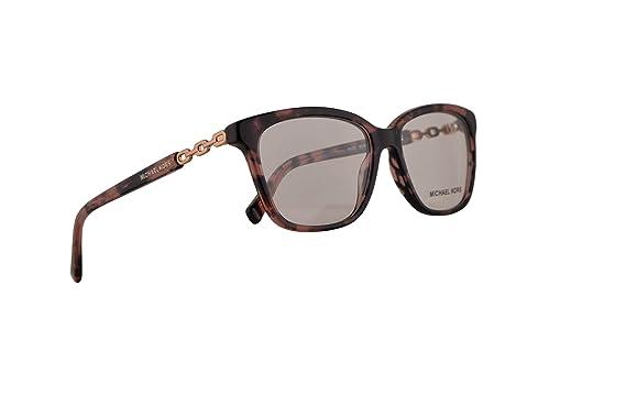 528290475e0 Image Unavailable. Image not available for. Color  Michael Kors MK8018  Sabina IV Eyeglasses 52-15-135 Pink Tortoise Rose Gold w