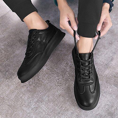 Men's Shoes Feifei Leisure Fashion Thick Bottom Breathable Plate Shoes 3 Colors(Size Multiple Choice) (Color : 03, Size : EU39/UK6/CN39)