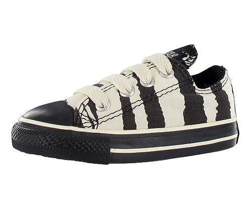 866dc5e80037 Converse All Star Chuck Taylor Animal Print Zebra Ox Baby Boys Casual Size  US 8