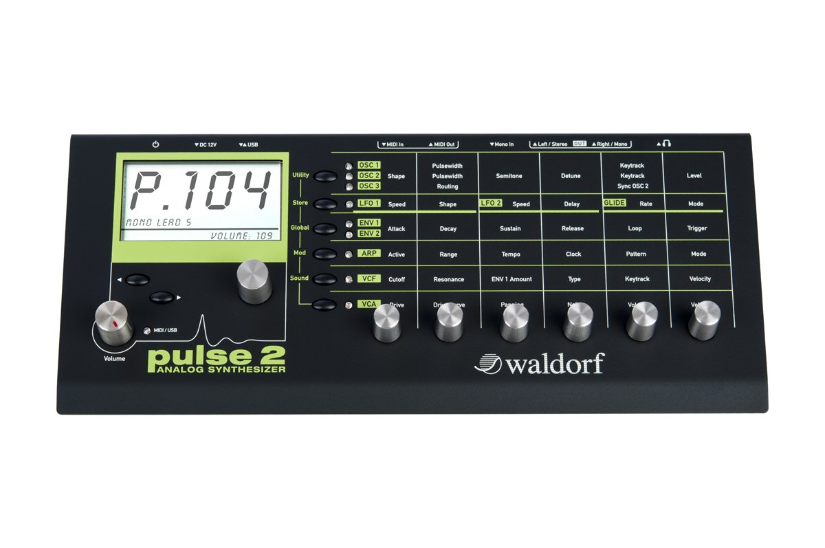Waldorf Pulse 2 Analog Synthesizer by Waldorf