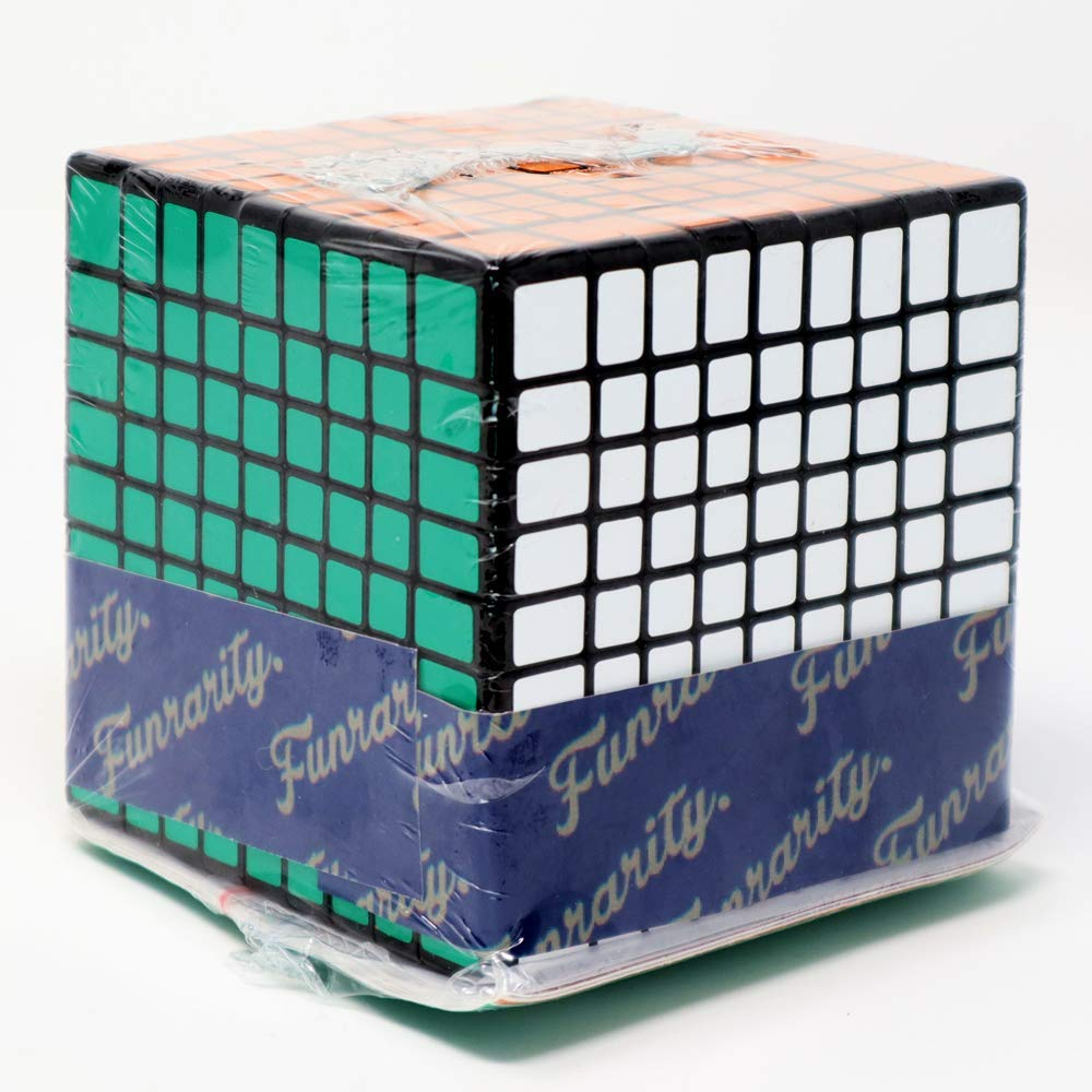 Funrarity Magic Cube Puzzle 9x9x9 with Extra Replacement Stickers