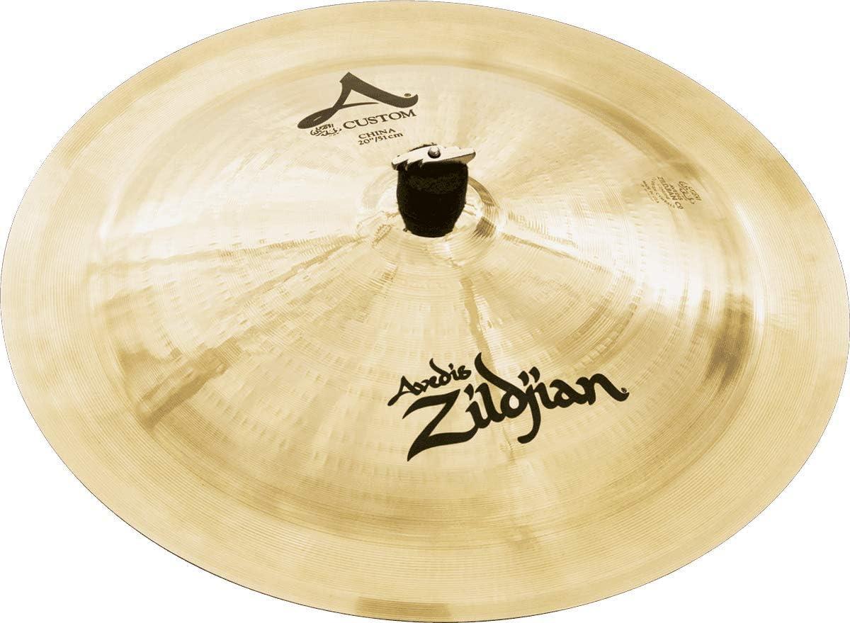 """B0002D050A Zildjian A Custom 20"""" China Cymbal 613TA6PRe2BL"""