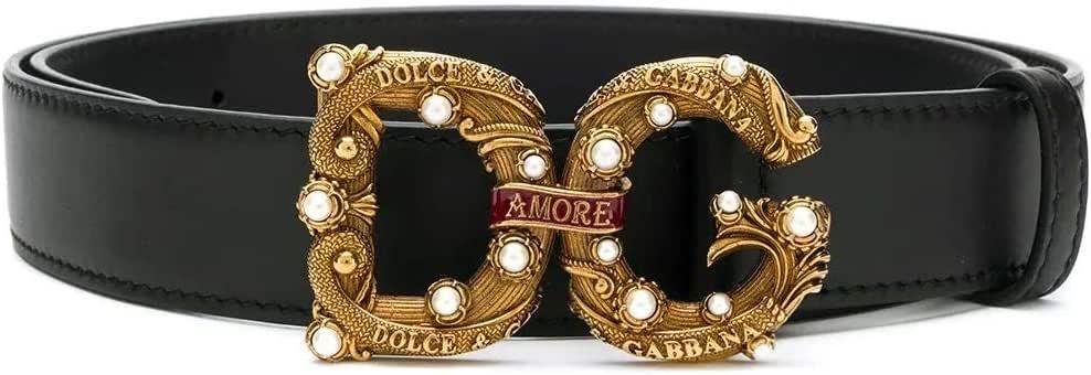 Luxury Fashion | Dolce E Gabbana Womens BE1335AK13380999 Black Belt | Spring Summer 20