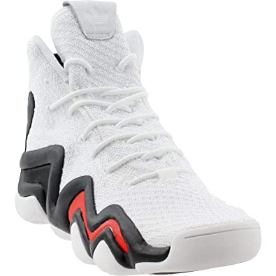 detailed pictures 65642 0b53c Amazon.com  adidas Mens Crazy 8 Adv Primeknit Casual Athletic  Sneakers   Shoes