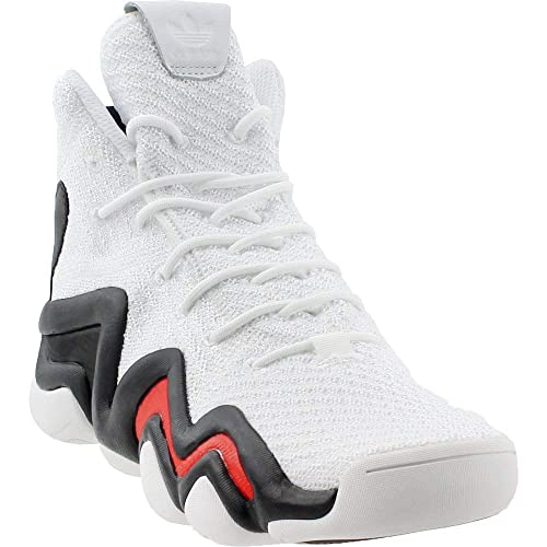 buy popular 6ccc9 00338 adidas Crazy 8 Mens Fashion-Sneakers Q1693510.5 - BlackSolar-REDSolar-Blue  Amazon.co.uk Shoes  Bags