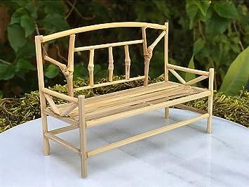 zen garden furniture. Interesting Furniture Miniature Dollhouse FAIRY GARDEN Furniture ZEN Garden Mini Bamboo Bench NEW On Zen I