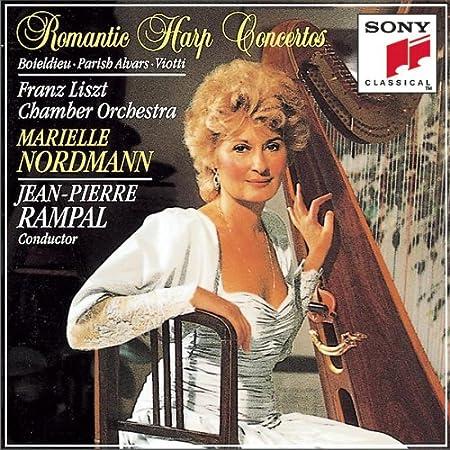 Romantic Harp Concertos : Boieldieu, Parish Alvars, Viotti