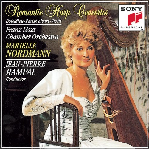 (Romantic Harp Concertos : Boieldieu, Parish Alvars, Viotti)
