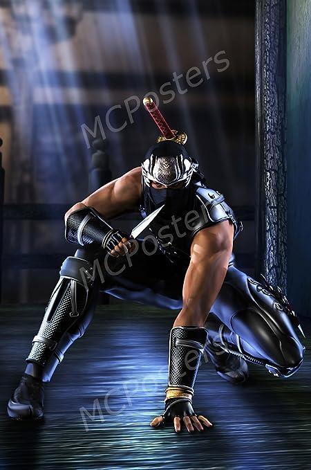 Amazon.com: MCPosters Ninja Gaiden Black Ryu Original XBOX ...