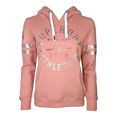 on sale e7edc f00b0 Superdry Damen Sweatshirt Track & Field Overhead mit Kapuze ...