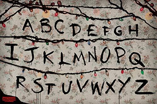 Stranger Things - TV Show Poster (Alphabet - Run) (Size: 36