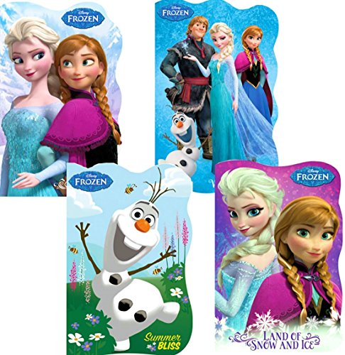 (Disney Frozen Board Books (Set of 4 Shaped Board Books))