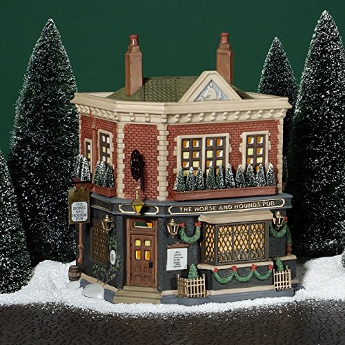 Department 56 'The Horse and Hounds Pub' 56.58340 Dickens' Village by Department 56