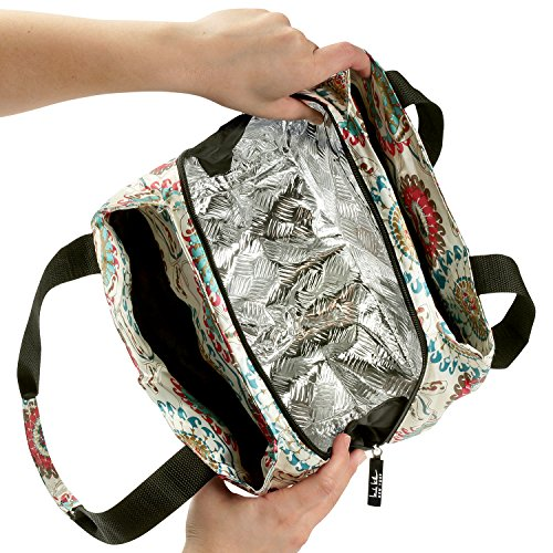 Nicole Miller Of New York Insulated Lunch Cooler Bag 11