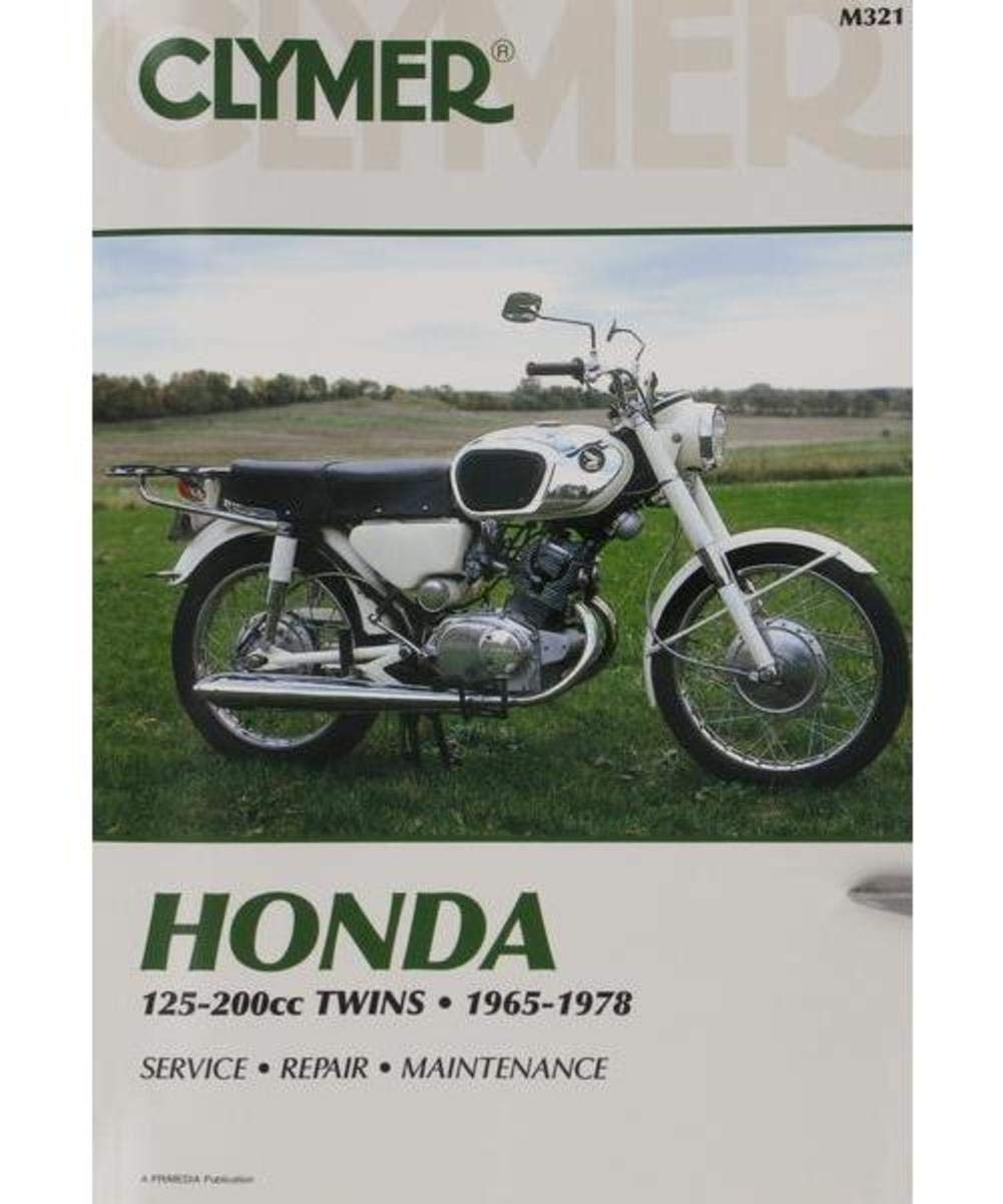Amazon.com: 73-77 HONDA CB125S: Clymer Service Manual: Manufacturer:  Automotive
