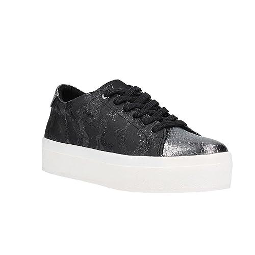 Guess Sneaker Donna MOD. FL5MZRLEA12 Black: Amazon.it