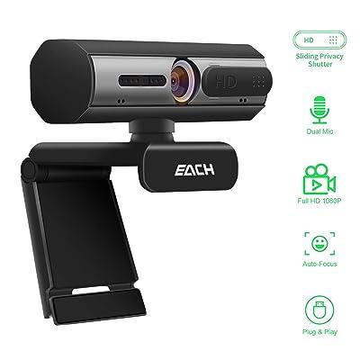 AutoFocus Full HD Webcam 1080P