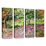 Paul Gauguin's Tropical Landscape, Martinique, 4 Piece Gallery-Wrapped Canvas Set 36X48 Paul Gauguin Tropical Landscape, Martinique, 4 Piece Gallery-Wrapped Canvas Set A high quality print reproduction of an oil on canvas. This landscape painting is ...