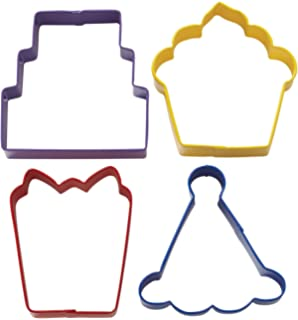 Wilton 2308-0909 Party Cookie Cutter Set, Set of 4-Discontinued By Manufacturer