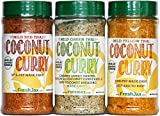FreshJax Mild Thai Coconut Curry - Gift Set - 3 Extra Large Variety Pack