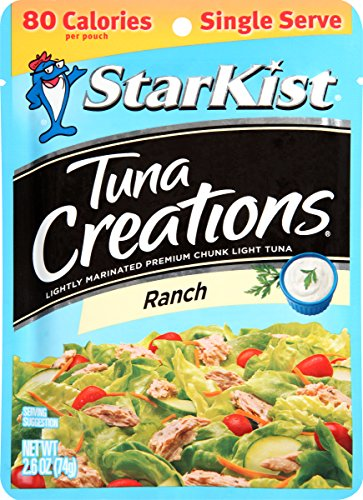 StarKist Tuna Creations Ranch, 2.6 Ounce (Pack of 12)