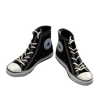 Turnschuhe Schuhe Mini Sneakers Shoes Schwarz fuer American Girl Puppen Doll ZXAUEV