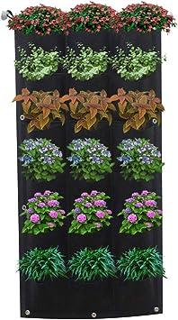 Garden Planter Pockets Growing Pot Plant Growing Bag