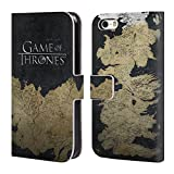 Official HBO Game Of Thrones Westeros Map Key Art Leather Book Wallet Case Cover For Apple iPhone 5 / 5s / SE