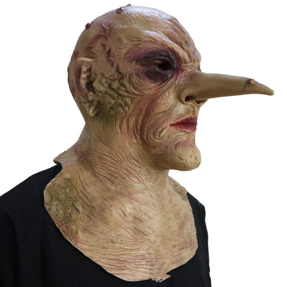 venta mundialmente famosa en línea Circlefly Máscara de Zombie de Halloween Horror bioquímicos bioquímicos bioquímicos Nariz Larga embrujadas Zombie de Latex Miedo Prop casa albergue Escape Peluca  Todos los productos obtienen hasta un 34% de descuento.