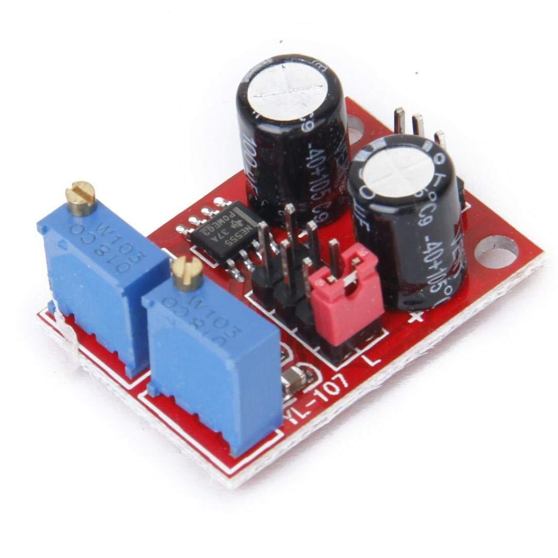 TOSSPER Générateur de signaux Module Fréquence Durée de Vie réglable d'onde carrée