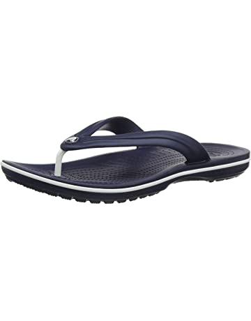 1af8707c7 Crocs Men's and Women's Crocband Flip Flop | Casual and Sporty Sandal |  Lightweight Beach and